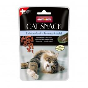 Animonda Cat Snack kuřecí maso a slávka zelenoústá