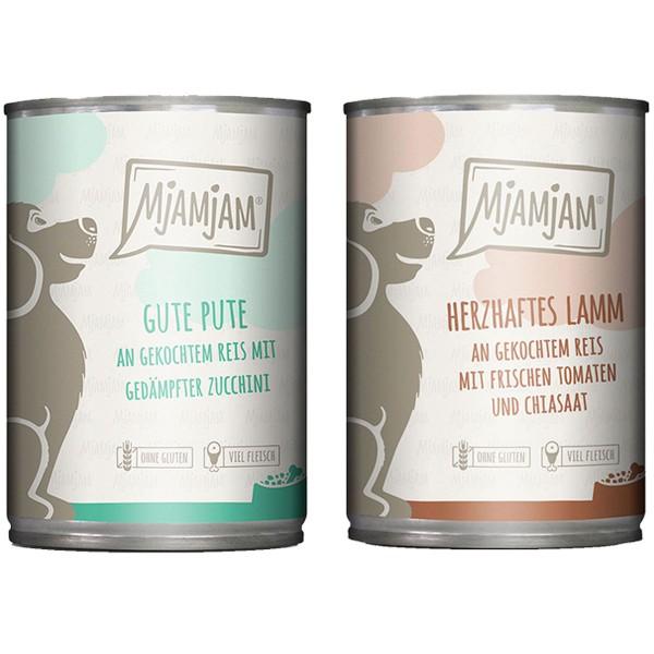 MjAMjAM Monopaket I mit Lamm&Pute 6x200g