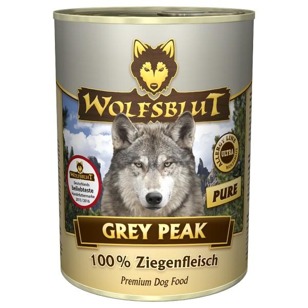 Wolfsblut Grey Peak Pure mit Ziegenfleisch
