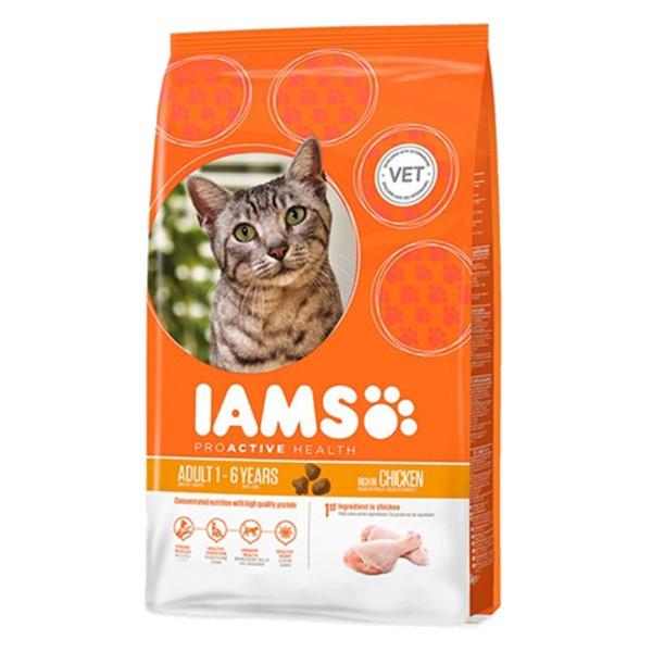 IAMS Katze Trockenfutter Adult Huhn - 10 kg
