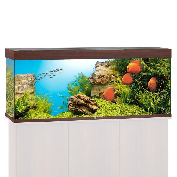 Rio 400 Aquarium ohne Schrank - Dunkelbraun