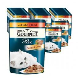 Gourmet Perle Duetto di Carne 24x85g