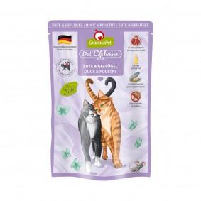 GranataPet Katze - Delicatessen Pouch Ente & Geflügel
