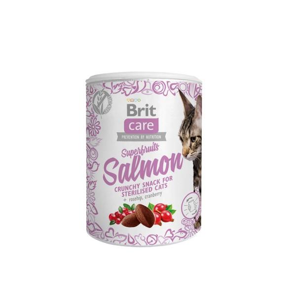 Brit care Cat Snack - Superfruits Salmon