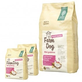 Green Petfood FarmDog Mini grainfree 10kg + 2x900g gratis