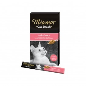 Miamor Cat Snack Lachs-Cream 6x15g