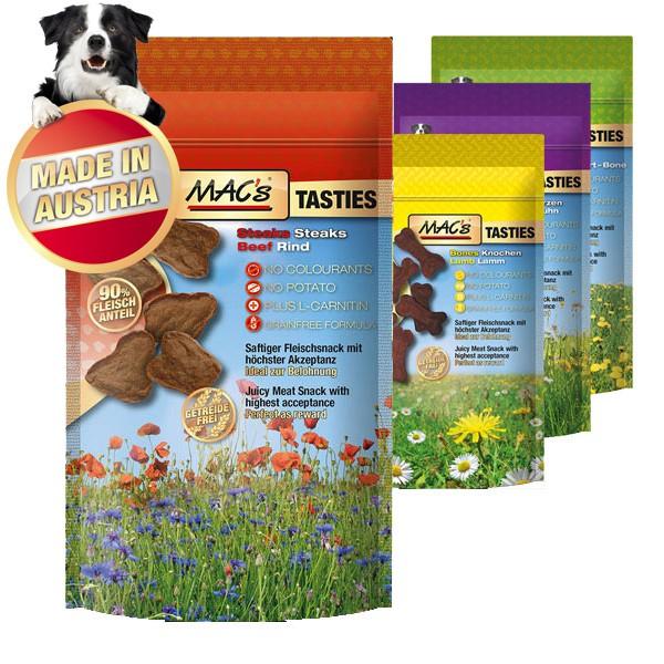 MAC's Hundesnack Tasties Selection 4x60g