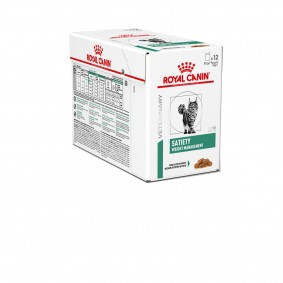 ROYAL CANIN SATIETY Weight Management Thin Slices in Gravy