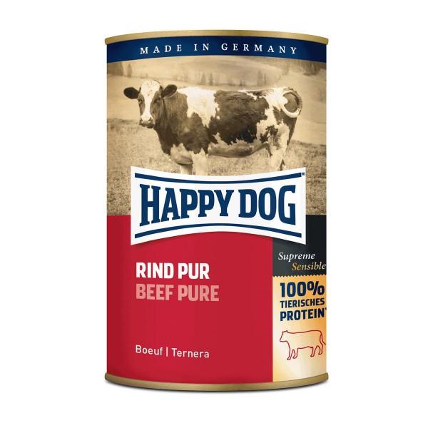 Happy Dog Rind Pur 12x400g