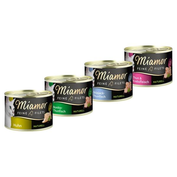 Miamor Feine Filets naturelle Mixpaket