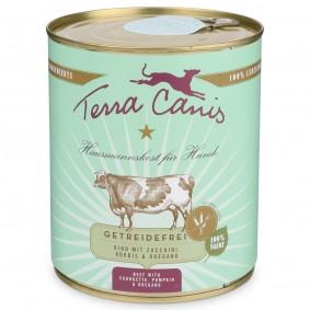 Terra Canis getreidefrei Rind mit Zucchini, Kürbis und Oregano