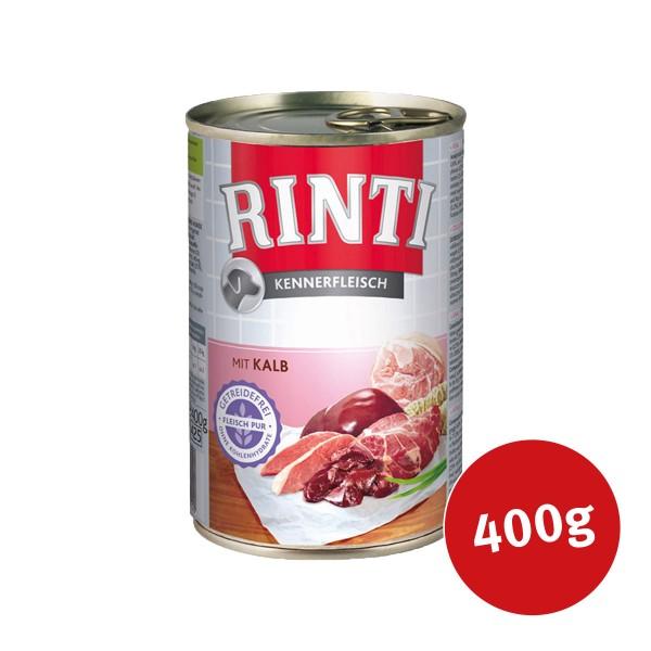 Rinti Nassfutter Kennerfleisch mit Kalb