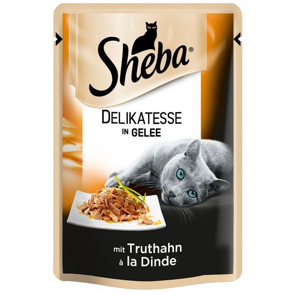 Sheba Katzenfutter Delikatesse in Gelee Truthahn