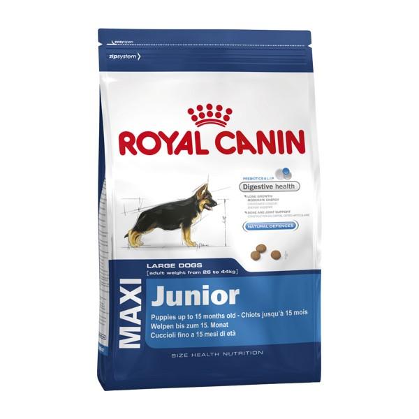 royal canin maxi junior g nstig kaufen bei zooroyal. Black Bedroom Furniture Sets. Home Design Ideas