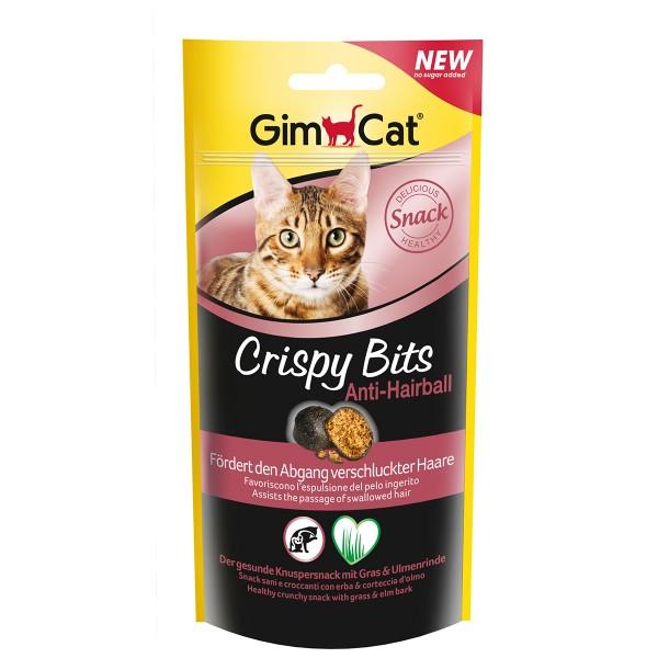 GimCat Katzensnacks Crispy Bits Anti-Hairball 40g