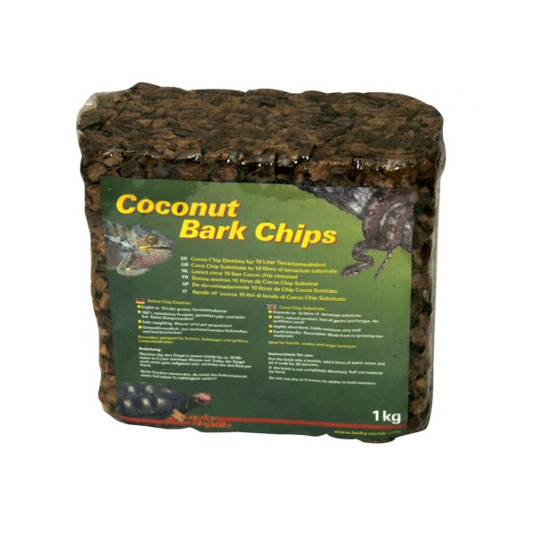 Lucky Reptile Coconut Bark Chips 1 kg