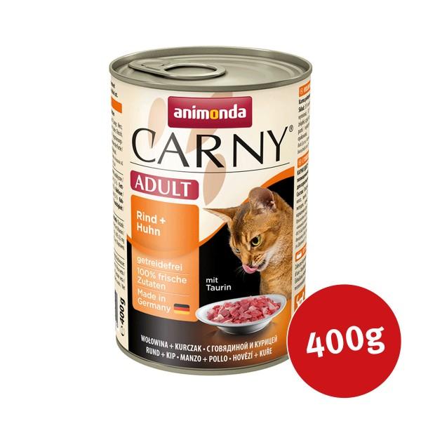 Animonda Katzenfutter Carny Adult Rind und Huhn
