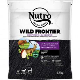 NUTRO WILD FRONTIER Adult 10-30kg Hirsch & Rind
