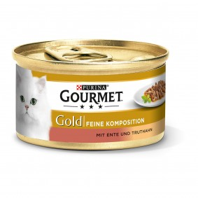 Gourmet Gold Feine Komposition Ente & Truthahn