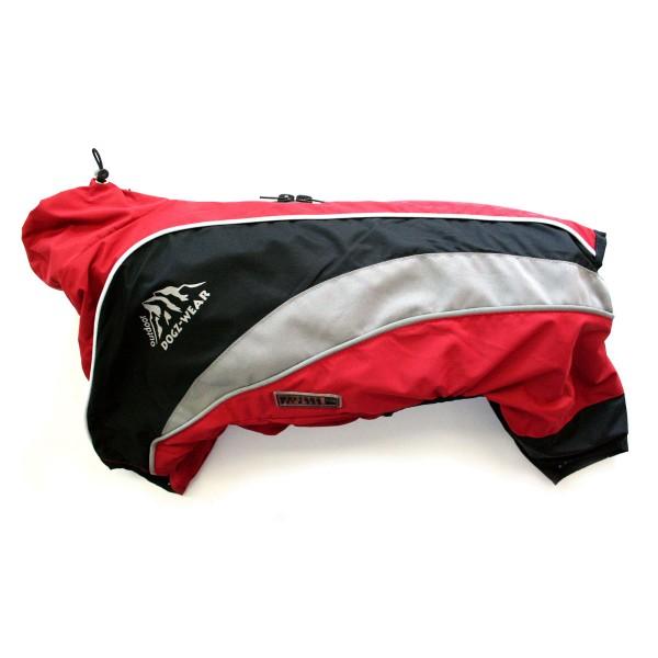 Wolters Dogz-Wear Regenanzug rot/schwarz