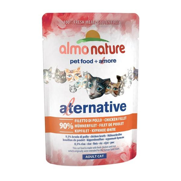 Almo Nature Alternative wet Cat Hühnerfilet