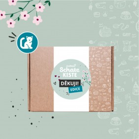 Danke-Schatzkiste für Katzen (Tschechische Edition)