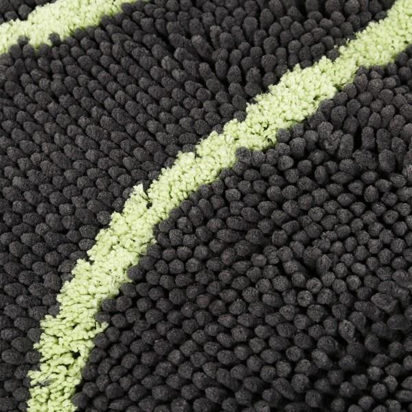 Wolters Dirty Dog Doormat cool-gray und lime Größe L