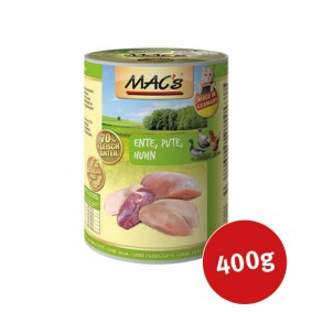 MAC's Cat Katzen Nassfutter Fleischmenü Ente, Pute, Huhn