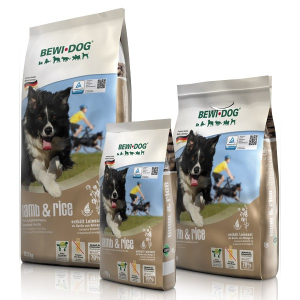 BEWI DOG lamb & rice Hundefutter