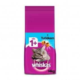 Whiskas granule s tuňákem pro dospělé kočky