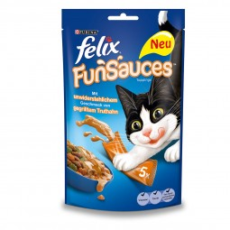 FELIX FunSauces Katzensnacks 6er Mischpaket