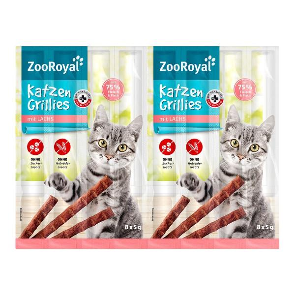 ZooRoyal Katzen-Grillies mit Lachs
