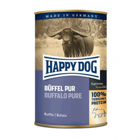 Happy Dog Büffel Pur 12x400g