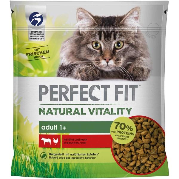 PERFECT FIT Katze Natural Vitality Adult 1+ mit Rind und Huhn