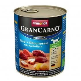 Animonda GranCarno Adult hovězí a uzený úhoř s brambory