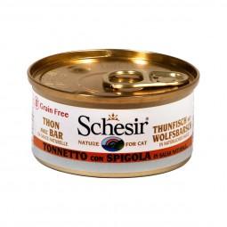 Schesir Natural Sauce Thunfisch-Wolfsbarsch