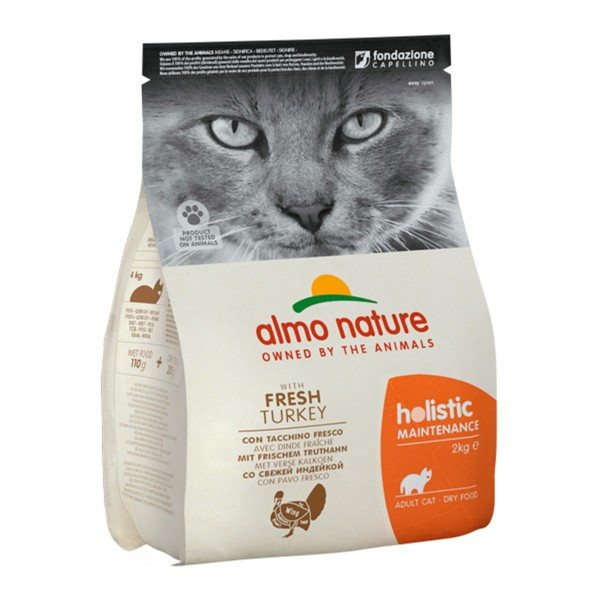 Almo Nature Holistic Cat Truthahn und Reis