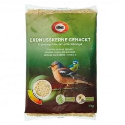 elles Wildvogelfutter Erdnusskerne gehackt 1 kg