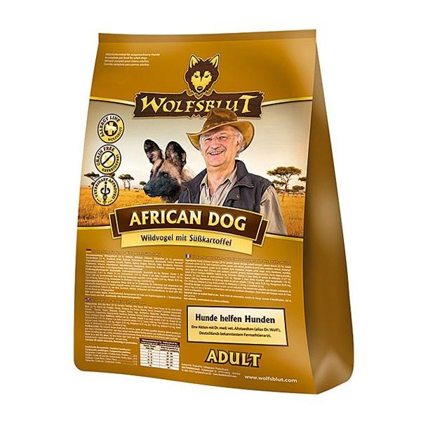 Wolfsblut Hundefutter African Dog Adult Wildvogel+Süßkartoffel