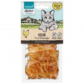 ZooRoyal Minkas přírodní strava mini proužky zkuřecího masa, 50g