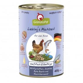 GranataPet Liebling's Mahlzeit Weißfisch & Geflügel