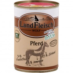 Landfleisch Dog Hundefutter Wolf Sensibel Pferd