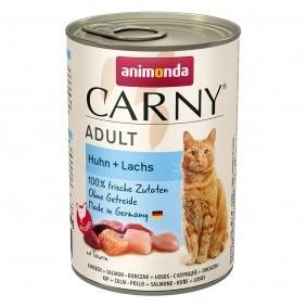 animonda Carny Adult Huhn + Lachs 400g Dosen