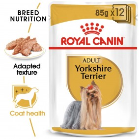 Royal Canin Breed Health Nutrition Yorkshire Terrier, 12 x 85 g