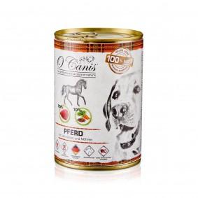 O'Canis Pferdefleisch mit Leinsamen und Gemüse 6x400g