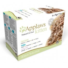 Applaws Cat Kitten multipack, 6 x 70 g