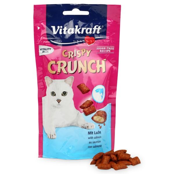 Vitakraft Katzensnack Crispy Crunch mit Lachs