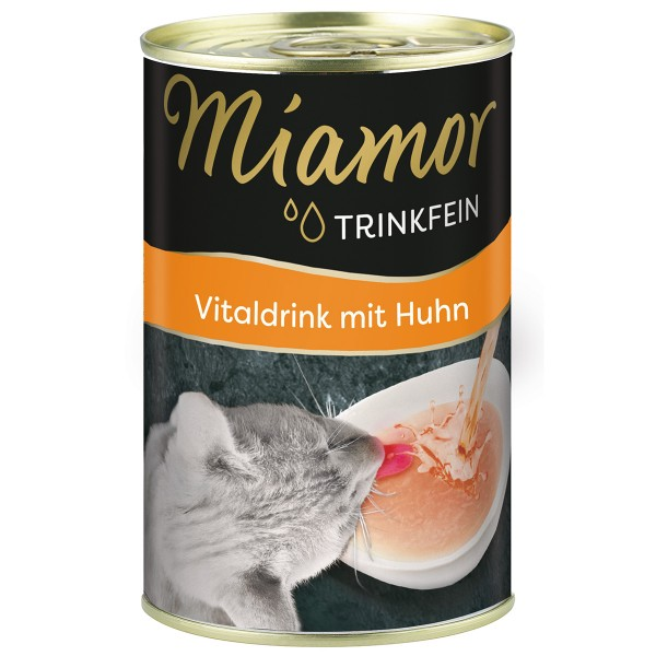 Miamor Trinkfein - Vitaldrink mit Huhn