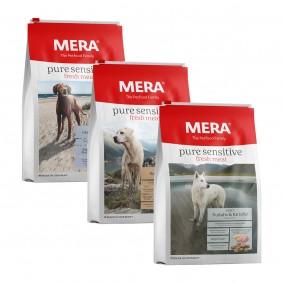 MERA Trockenfutter fresh meat Probierpaket 3x1kg