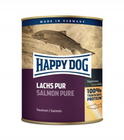 Happy Dog Lachs Pur